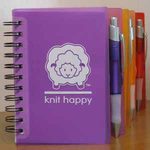 Knit Happy Notebook